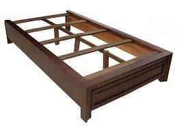 base de madera para cama individual 7 base para cama individual gin contemporánea tabaco estilo
