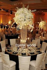Very Cheap Wedding Decorations New Arrival Wedding Decoration Crystal Flower Stand For Events