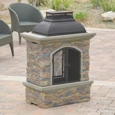 fireplace best ceramic chiminea outdoor fireplace design ideas