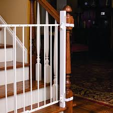 Baby Gates For Bottom Of Stairs With Banister Ez Fit 36 U2033 Baby Gate Walk Thru Adapter Kit For Stairs Child And
