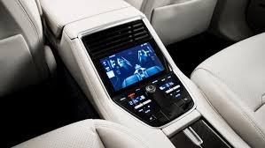 Interior Of Porsche Panamera Panamera The Sports Car Among Luxury Saloons
