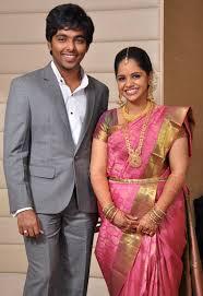 engagement sarees gv prakash and saidavi engagement saree boutiquesarees