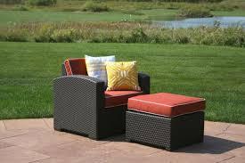 Reclining Patio Chair Chair Metal Patio Chair With Ottoman Reclining Patio Chairs With