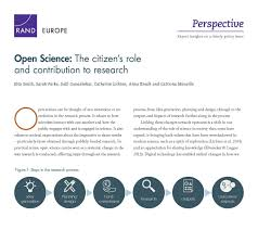 open science the citizen u0027s role and contribution to research rand