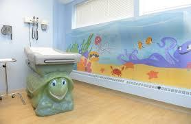Pediatric Exam Tables Murals Brighten Children U0027s Exam Rooms
