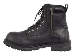 cheap waterproof motorcycle boots milwaukee leather lace up waterproof motorcycle boots free shipping