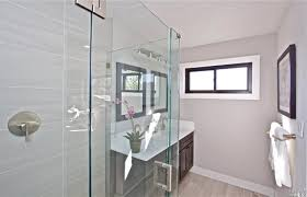 Contemporary Bathroom Lighting Contemporary 3 4 Bathroom With Undermount Sink By Vicky Smirnoff