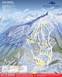printable grooming map revelstoke mountain resort british