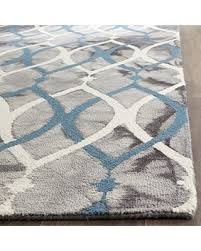 Modern Wool Area Rugs Amazing Deal On Safavieh Dip Dye Collection Ddy534j Handmade