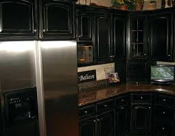 painting kitchen cabinets black before and after painting kitchen