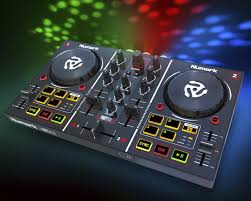 numark party mix adds disco lighting to a dj controller