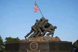 Flag Iwo Jima Iwo Jima Memorial U S Marine Corps War Memorial