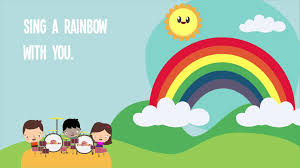 i can sing a rainbow rainbow song song lyrics children song