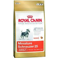 royal canin miniature schnauzer 25 breed diet dog food buy online