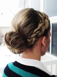 sock bun hair let s get pretty again front braid to sock bun