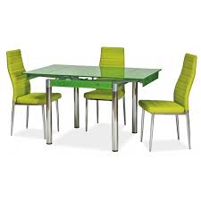 Extendable Dining Table And 4 Chairs 47 Green Dining Table Set Stockholm Darwin Dining Table And 4 6