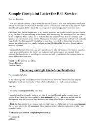 Bad Business Letter Examples by Ideas Collection Sample Complaint Letter Bad Service Airlines Also