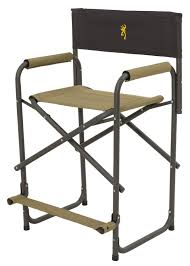 Aluminum Directors Chair Bar Height by Camping Comfort Browning Camping 8532121 Directors Chair Xt With