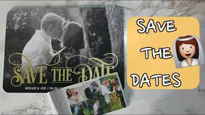 Affordable Save The Dates Affordable Save The Dates Project Bride Youtube