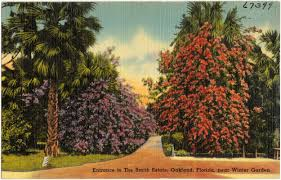 entrance to the smith estate oakland florida near winter garden