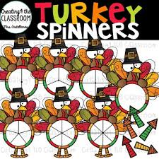 thanksgiving spinners clip bundle thanksgiving clip tpt