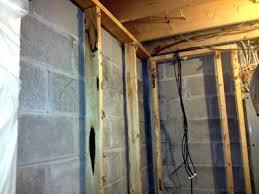 Spray Foam Insulation For Basement Walls by Basement Wall Insulation Applications Using Spray Polyurethane Foam