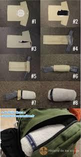 comment ranger ses recettes de cuisine comment ranger ses affaires dans 1 paire de chaussettes