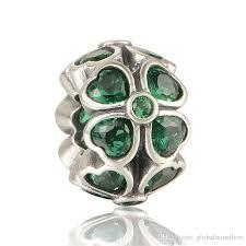 pandora style bracelet sterling silver images Pandora four leaf clover flower charm 925 sterling silver jpg