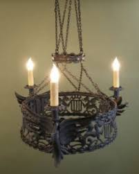 Candle Holder Chandeliers Wrought Iron Hanging Candle Holders Foter