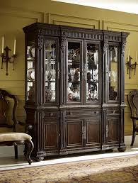 dining room china cabinets china cabinet with touch lighting and dentil molding by legacy
