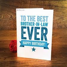 65 latest brother in law birthday greeting card golfian com