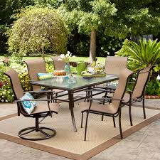 Patio Dining Table Garden Oasis Harrison 7 Piece Dining Set