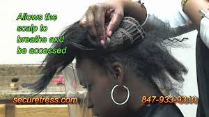 Human Hair Glue In Extensions by New Braid Only Weave No Sew No Glue No Tape No Net Youtube