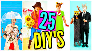 25 diy last minute halloween costumes cheap costume ideas youtube