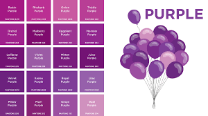 Purple Color Purple Colors Names Picture Gallery French And Fancy Inspired
