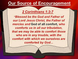 May The God Of All Comfort Five Ways To Encourage Others U201cfor I Want You To Know What A