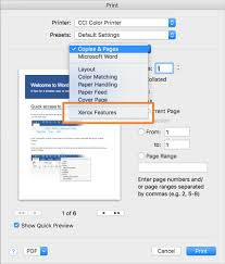 Cci Help Desk Macos Sierra And Cci Color 1 Sided Printing Or 2 Sided Help