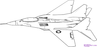 fighter jet coloring page eson me