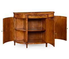 adam style satinwood u0026 marquetry demilune cabinet