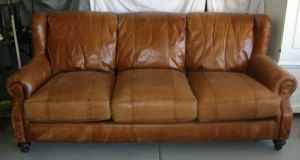 Henredon Leather Sofa What Do You Think Of This Henredon Leather Sofa