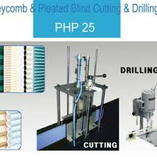 Cutting Blinds Honeycomb Blinds And Pleated Blinds Fabric Cutting Punching Machine