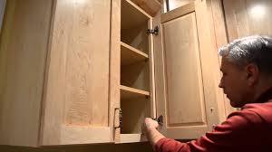 How To Adjust Kitchen Cabinet Hinges Cabinet Hinge Adjustment Youtube