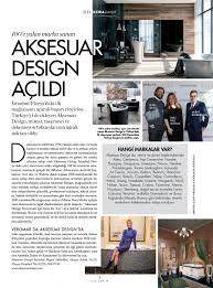 Bianchini E Capponi by Elle Decor Dergisi Nisan 2016 Aksesuar Design