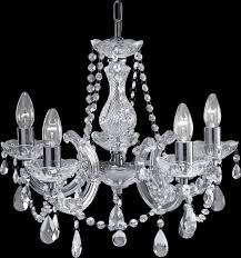 Chrome Crystal Chandelier by 399 5 Marie Therese Chrome 5 Light Chandelier With Crystal