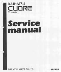 daihatsu service repair manuals pdf free downloads