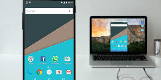 android mac your android screen to a pc or mac without root