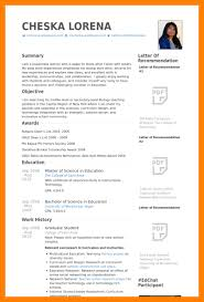 5 phd student cv template format of acv