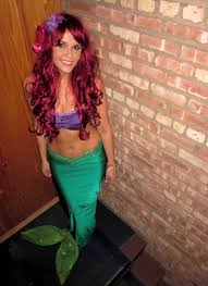 little mermaid halloween costume for adults i want to be ariel for halloween one year random