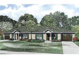 Multi Family House Plans Duplex Duplex House Plans One Story Duplex Plan 025m 0082 At