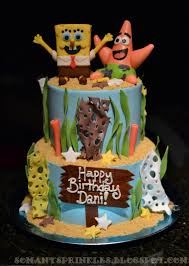 spongebob birthday cakes so many sprinkles spongebob birthday cake